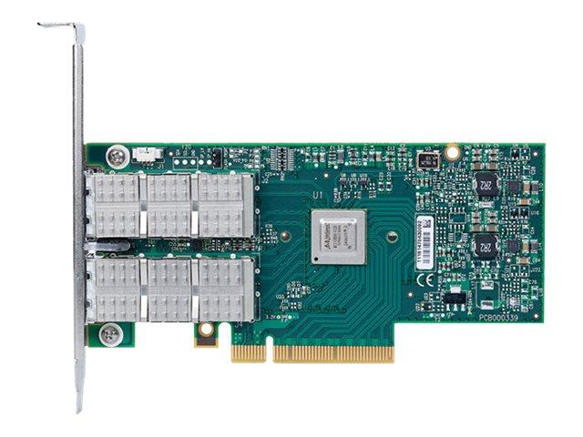 Mellanox ConnectX-3 VPI MCX354A-FCBT - Netzwerkadapter - PCIe 3.0 x8 - 10 GigE, InfiniBand, 40 Gigabit LAN - 2 Anschlüsse