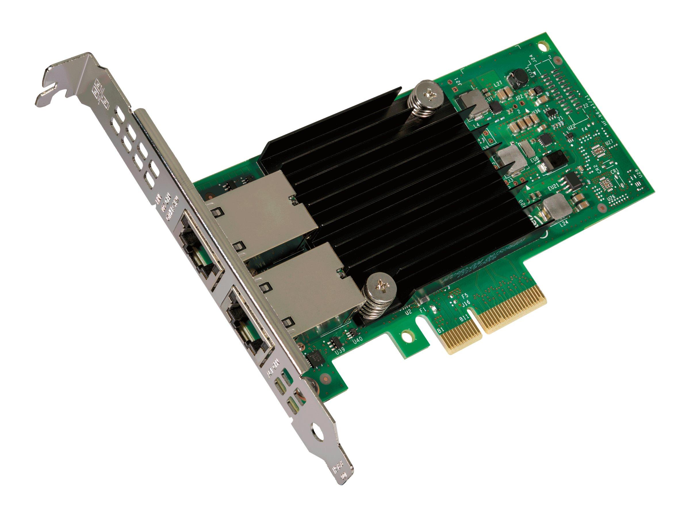 Intel Ethernet Converged Network Adapter X550-T2 - Netzwerkadapter - PCIe 3.0 x4 Low-Profile - 10Gb Ethernet x 2