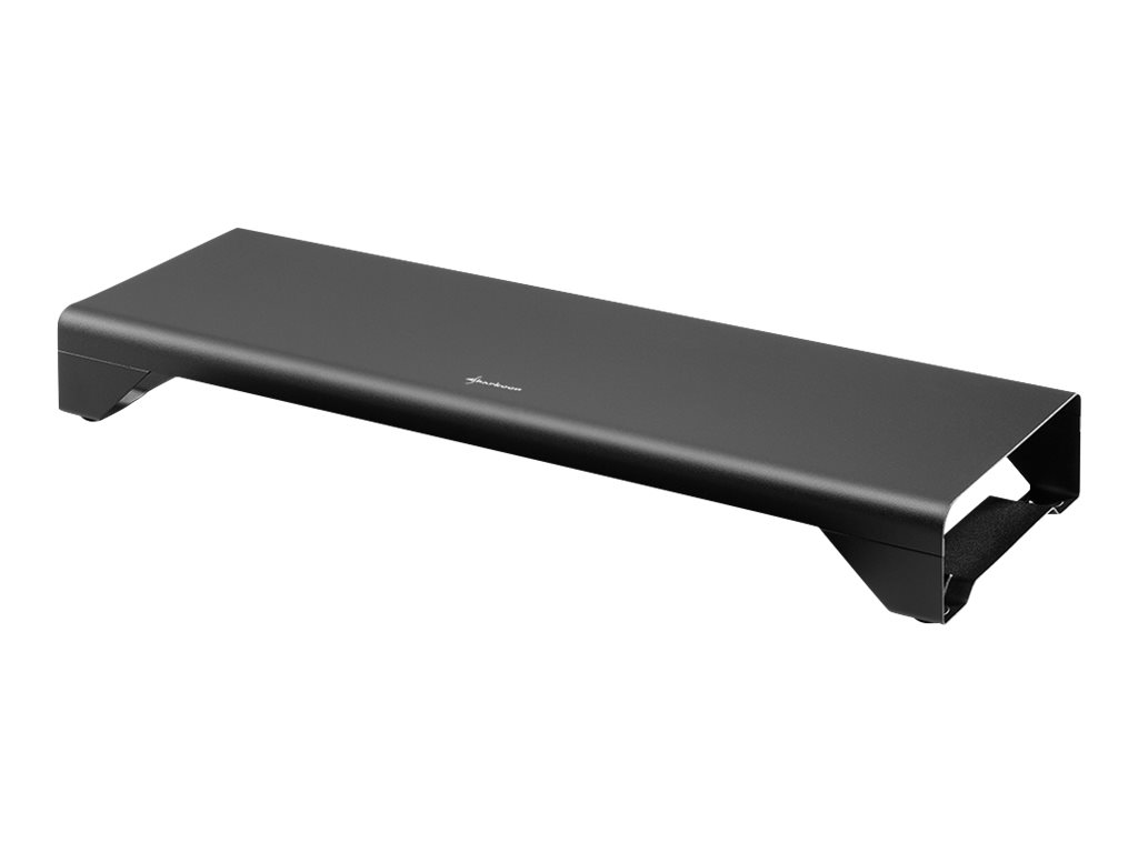 Sharkoon Monitor Stand PURE - Notebook- / LCD-Monitorständer - Desktop - Schwarz