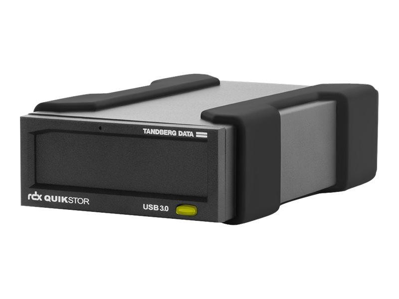 Tandberg RDX QuikStor - Laufwerk - RDX - SuperSpeed USB 3.0 - extern - mit 4-TB-Kassette