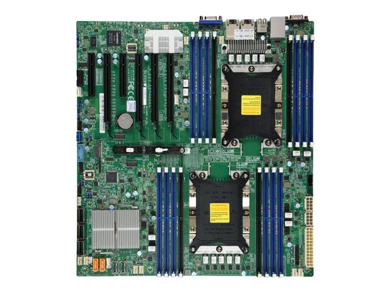 SUPERMICRO X11DPI-NT - Motherboard - Erweitertes ATX - Socket P - 2 Unterstützte CPUs - C622