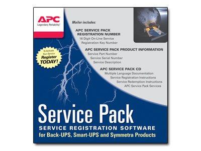 APC Extended Warranty Service Pack - Technischer Support - Telefonberatung - 3 Jahre - 24x7 - für P/N: SMT2200, SMX1500RM2U, SMX