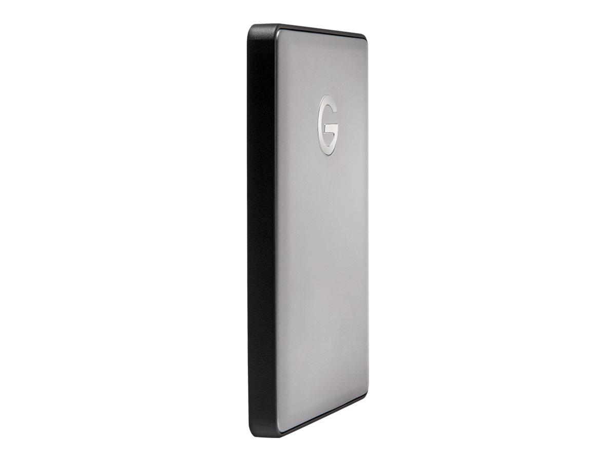 G-Technology G-DRIVE mobile USB-C GDMUCWW10001AHBV2 - Festplatte - 1 TB - extern (tragbar) - 2.5