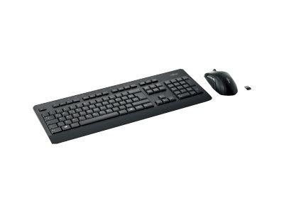 Fujitsu Wireless LX960 - Tastatur-und-Maus-Set - kabellos - 2.4 GHz - Schweiz - für Celsius C780, J550, M7010, M770, R970, W580;