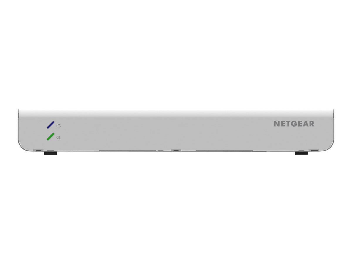 NETGEAR Insight Managed GC110P - Switch - L2+ - Smart - 8 x 10/100/1000 (PoE) + 2 x Gigabit SFP - Desktop, wandmontierbar