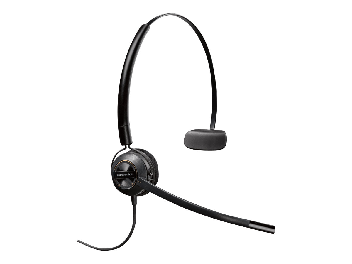 Poly EncorePro HW540 - Headset - On-Ear - konvertierbar - kabelgebunden
