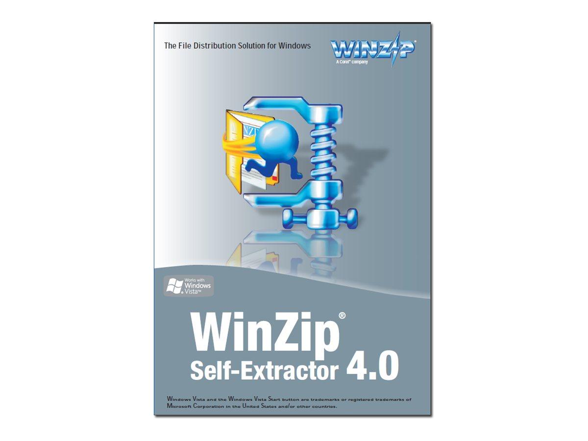 WinZip Self-Extractor - (v. 4.0) - Lizenz - 1 Benutzer - CLP - Stufe N (100000+)