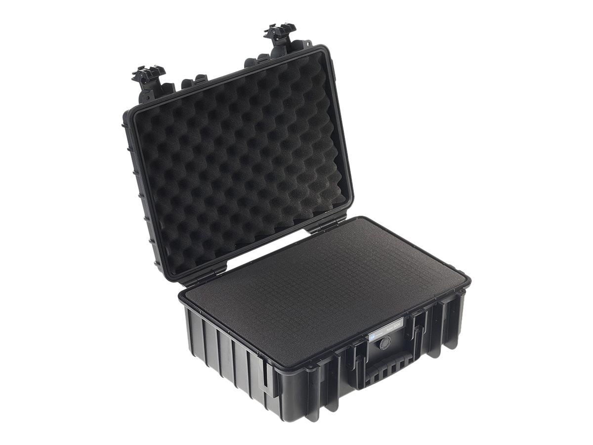 B&W outdoor.cases Type 5000 - Hartschalentasche - Polypropylen - Schwarz