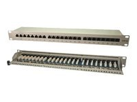 M-CAB - Patch Panel - RAL 7035, White Gray - 48.3 cm (19