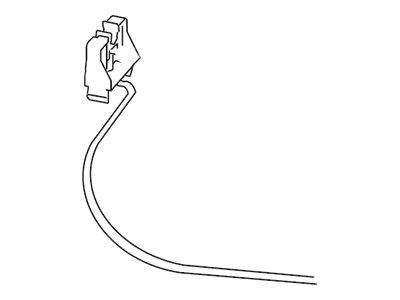 Lexmark - Linke Transferrollenhalterung mit Kabel