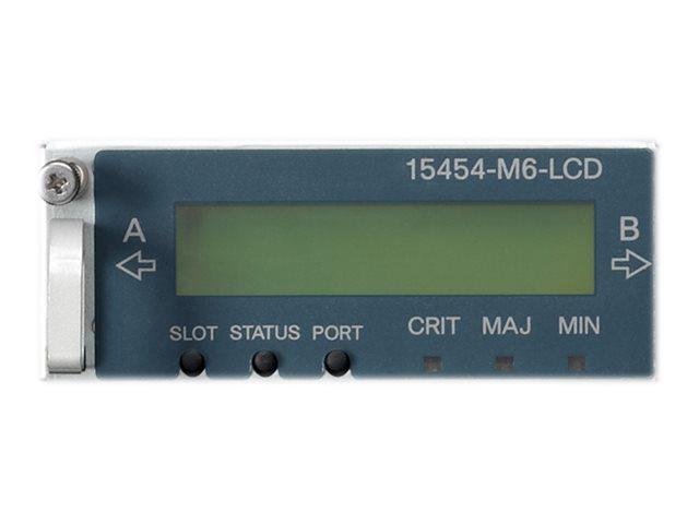 Cisco LCD Status - LCD-Monitor - integriert - mit backup Memory
