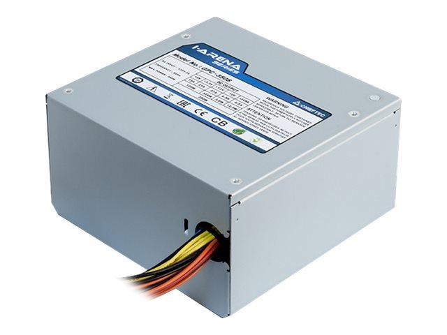 Chieftec iARENA GPC-600S - Stromversorgung (intern) - ATX12V 2.3/ PS/2 - Wechselstrom 230 V - 600 Watt - aktive PFC