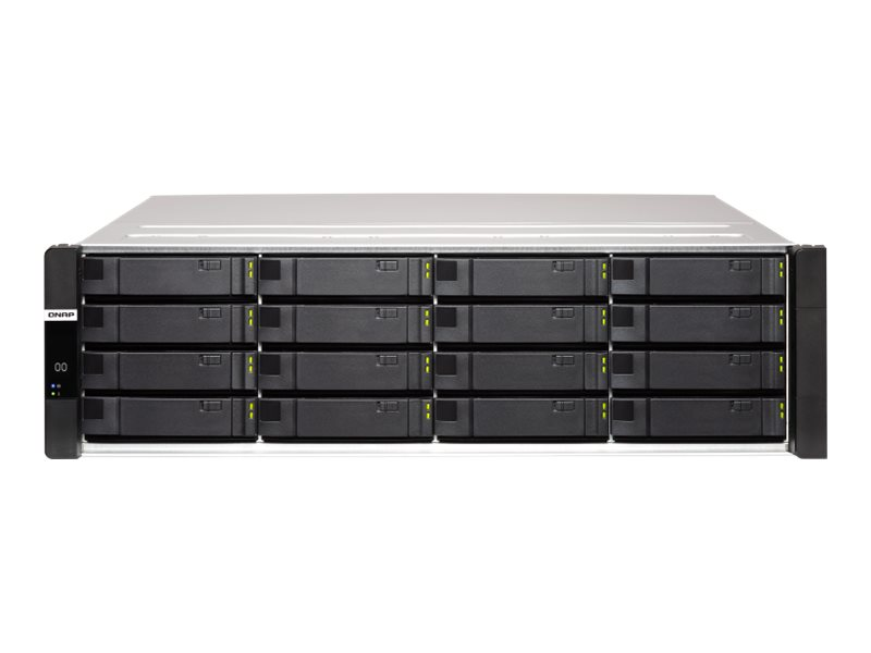 QNAP ES1686DC - NAS-Server - 16 Schächte - Rack - einbaufähig - SAS 12Gb/s