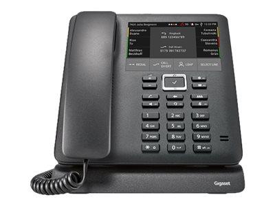 Gigaset PRO Maxwell 4 - VoIP-Telefon - dreiweg Anruffunktion - SIP - 4 Leitungen