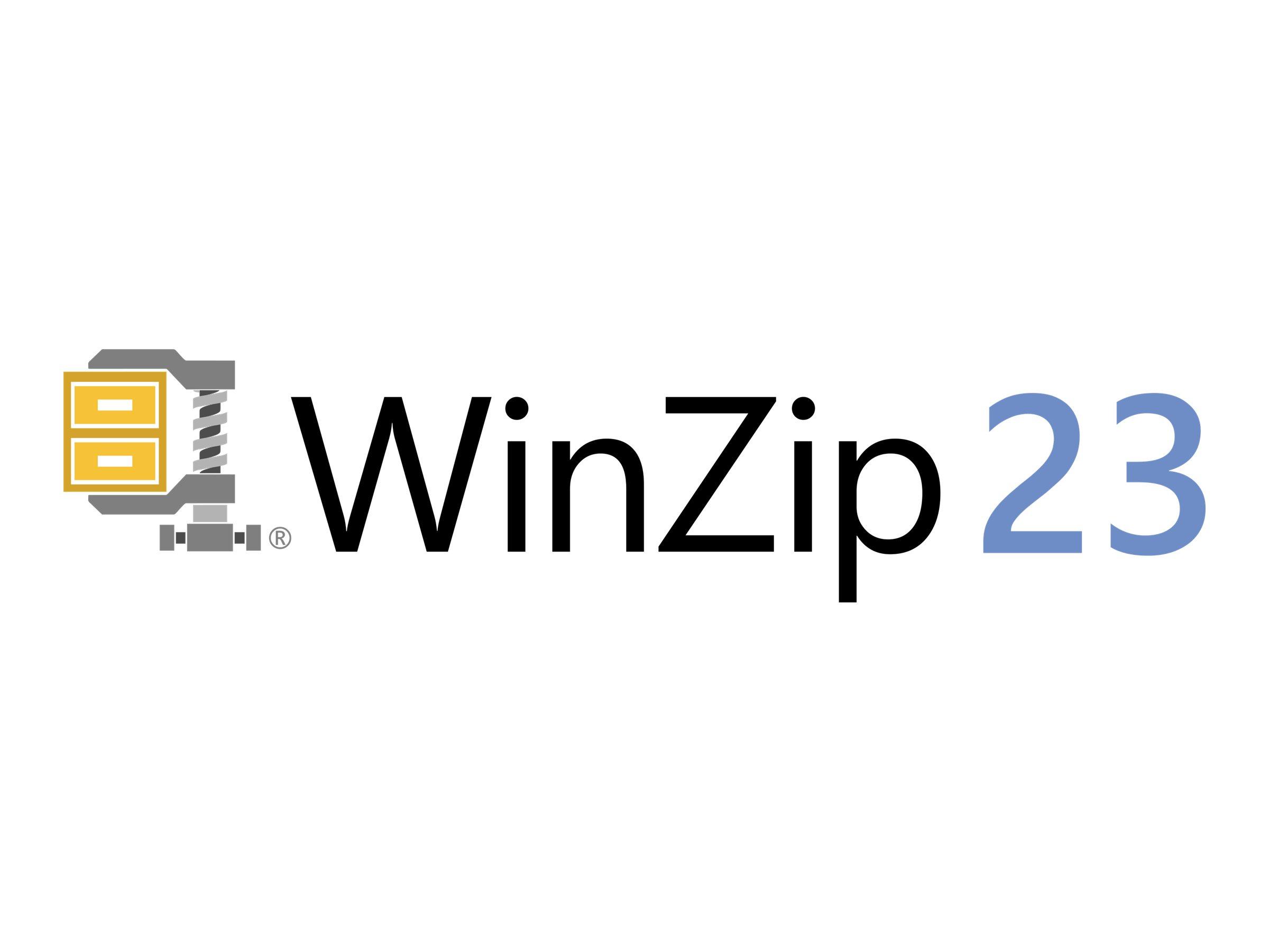 WinZip Standard - (v. 23) - Upgrade-Lizenz - 1 Benutzer - Volumen - Level J (5000-9999)