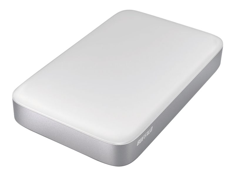BUFFALO MiniStation Thunderbolt - Festplatte - 1 TB - extern (tragbar) - USB 3.0 / Thunderbolt - für Apple iMac; MacBook Air; Ma