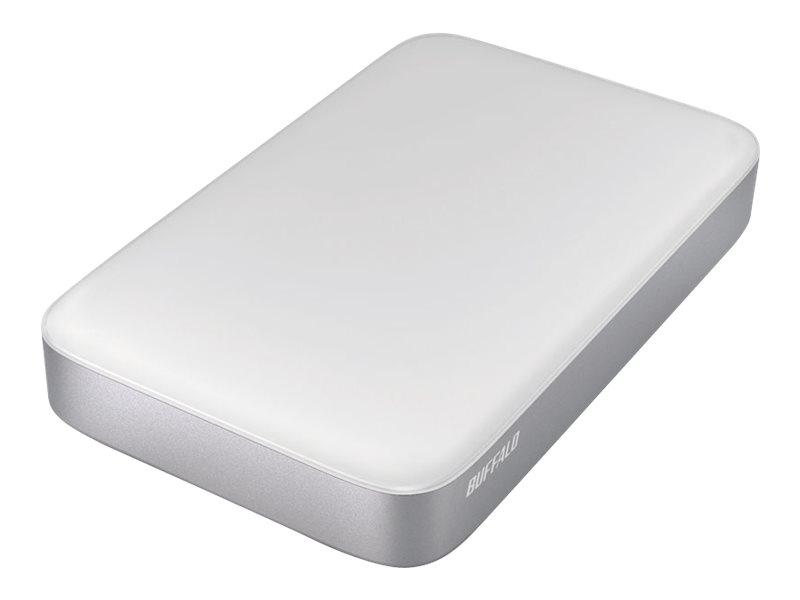 BUFFALO MiniStation Thunderbolt - Festplatte - 1 TB - extern (tragbar) - USB 3.0 / Thunderbolt - für Apple iMac; Mac mini; MacBo