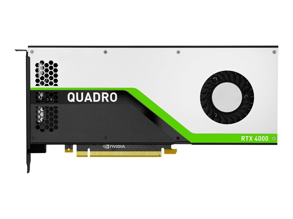 NVIDIA Quadro RTX 4000 - Grafikkarten - Quadro RTX 4000 - 8 GB GDDR6 - PCIe 3.0 x16 - 3 x DisplayPort, USB-C