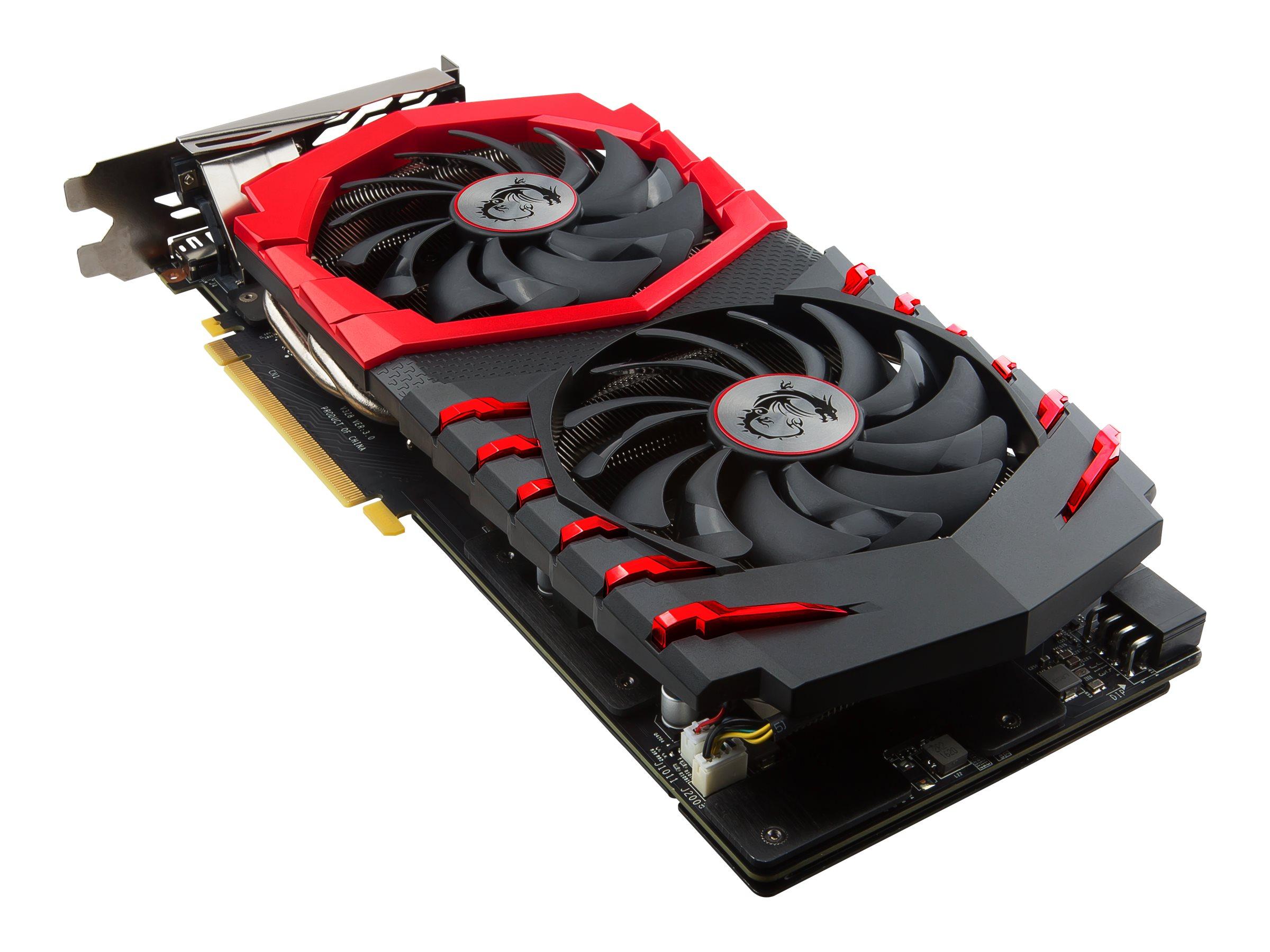 MSI GTX 1060 GAMING X 3G - Grafikkarten - GF GTX 1060 - 3 GB GDDR5 - PCIe 3.0 x16 - DVI, HDMI, 3 x DisplayPort