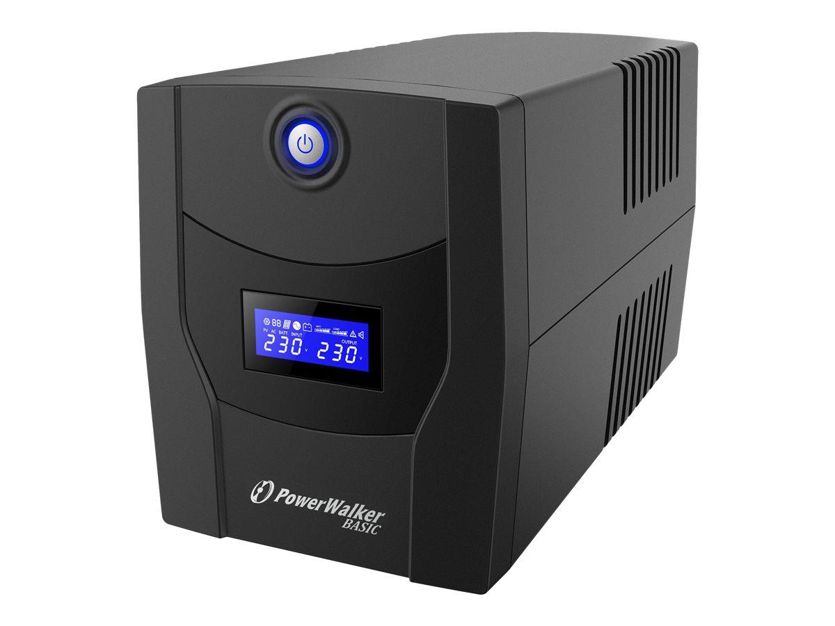 PowerWalker Basic VI 2200 STL - USV - Wechselstrom 162 - 290 V - 1320 Watt - 2200 VA 9 Ah