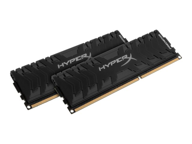 HyperX Predator - DDR4 - 32 GB: 2 x 16 GB - DIMM 288-PIN - 3333 MHz / PC4-26600 - CL16