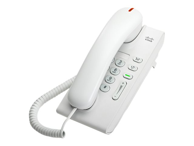 Cisco Unified IP Phone 6901 Standard - VoIP-Telefon - SCCP - Arctic White