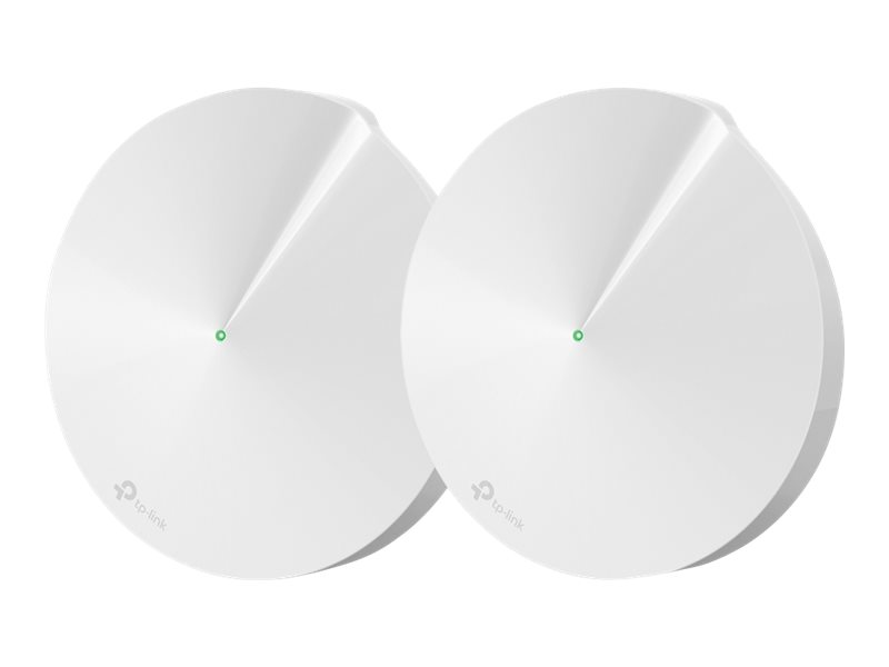 TP-Link Deco M9 Plus - WLAN-System (2 Router) - bis zu 418 m² - Netz - GigE, ZigBee - 802.11a/b/g/n/ac, Bluetooth 4.2, ZigBee Ho