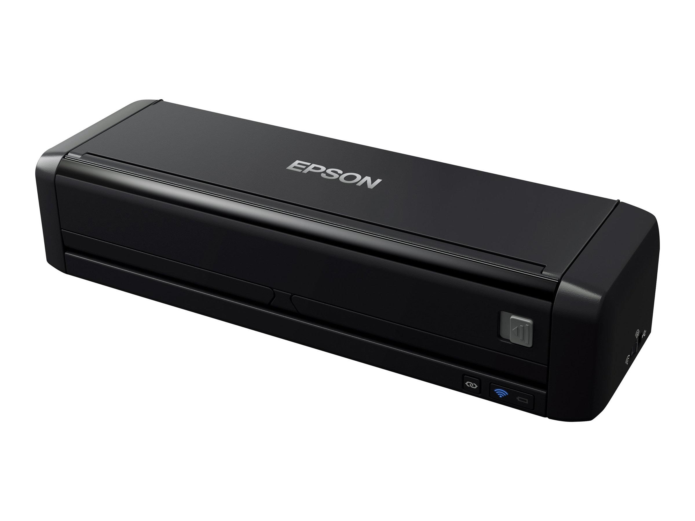 Epson WorkForce DS-360W - Dokumentenscanner - Duplex - A4 - 600 dpi x 600 dpi - bis zu 25 Seiten/Min. (einfarbig) / bis zu 25 Se