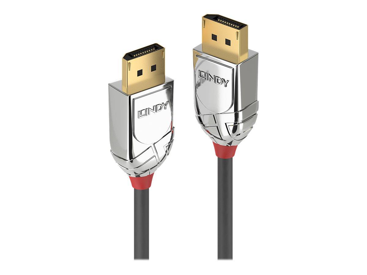 Lindy CROMO - DisplayPort-Kabel - DisplayPort (M) bis DisplayPort (M) - DisplayPort 1.2 - 3 m - rund, 4K Unterstützung