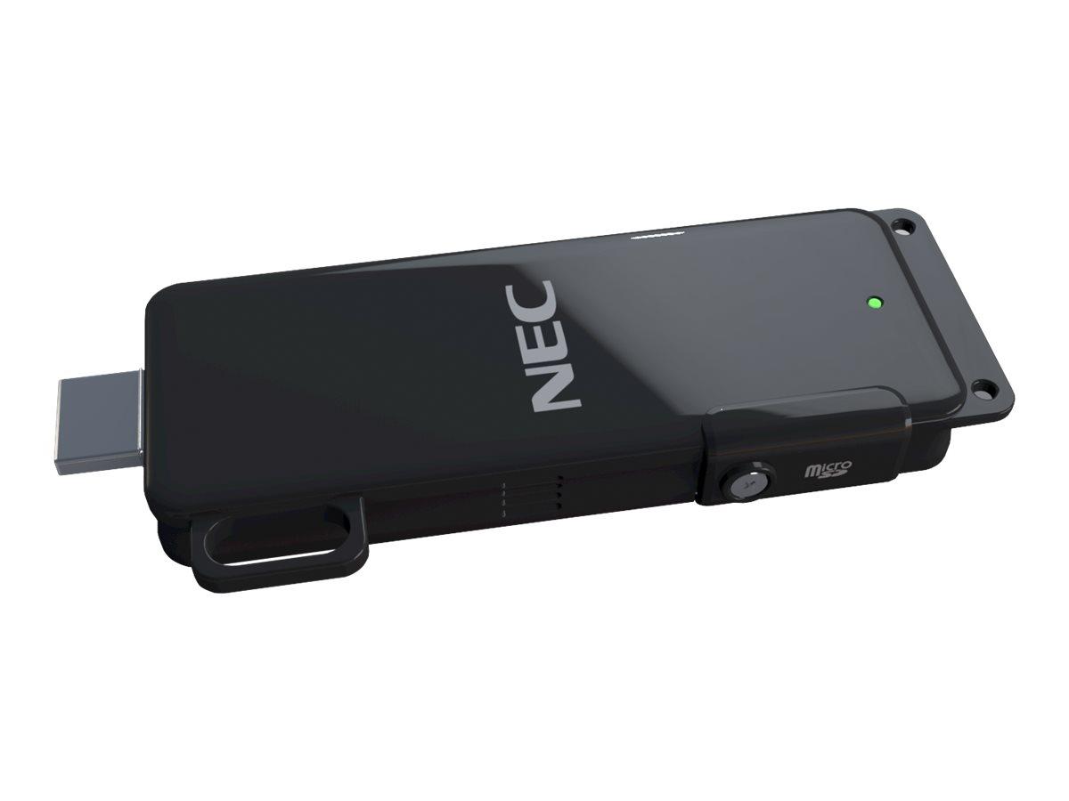 NEC MultiPresenter Stick MP10RX2 - Netzwerkmedien-Streaming-Adapter - 802.11b/g/n
