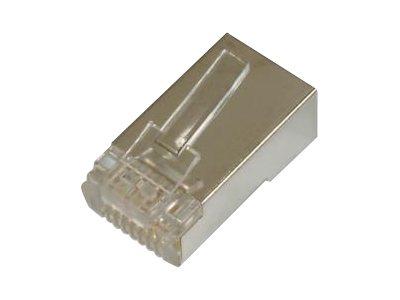 ASSMANN - Netzwerkanschluss - RJ-45 (M) - abgeschirmt - CAT 6