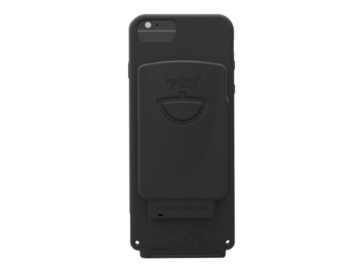 DuraCase - 800 Series - hintere Abdeckung für Mobiltelefon/Barcode-Scanner - IntelliSkin, gummiert (Packung mit 50) - für Apple
