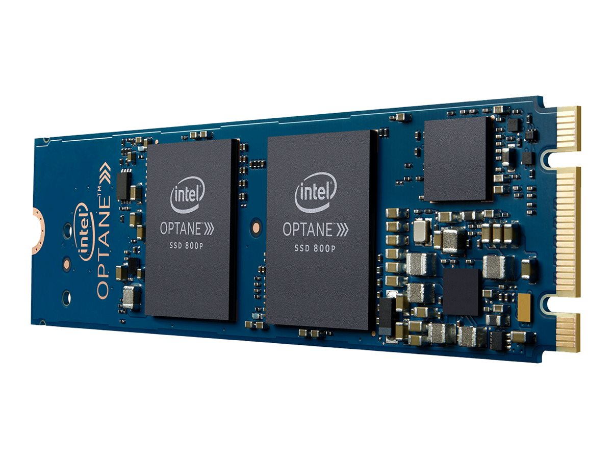 Intel Solid-State Drive 800p Series - Solid-State-Disk - 120 GB - 3D Xpoint (Optane) - intern - M.2 2280