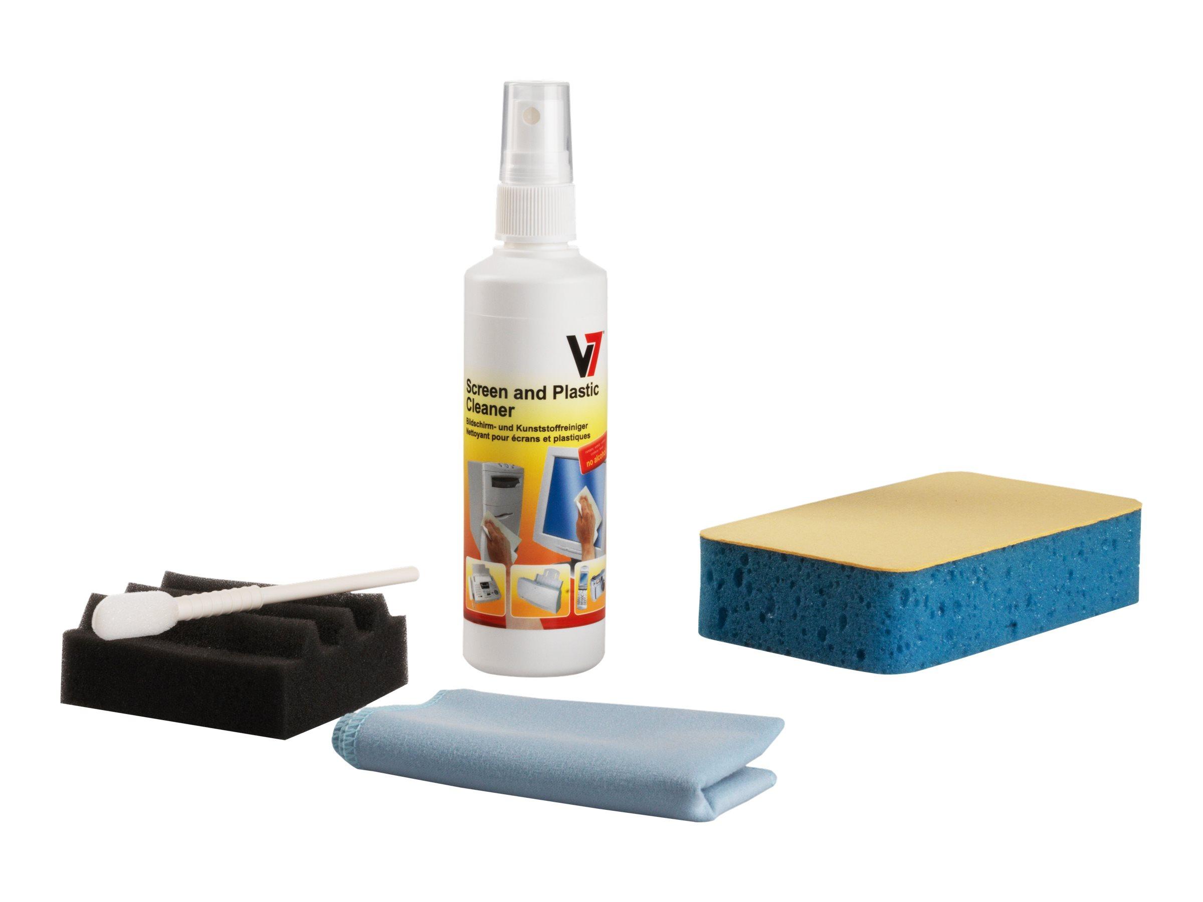 V7 - Reinigungskit für Bildschirm/Tastatur