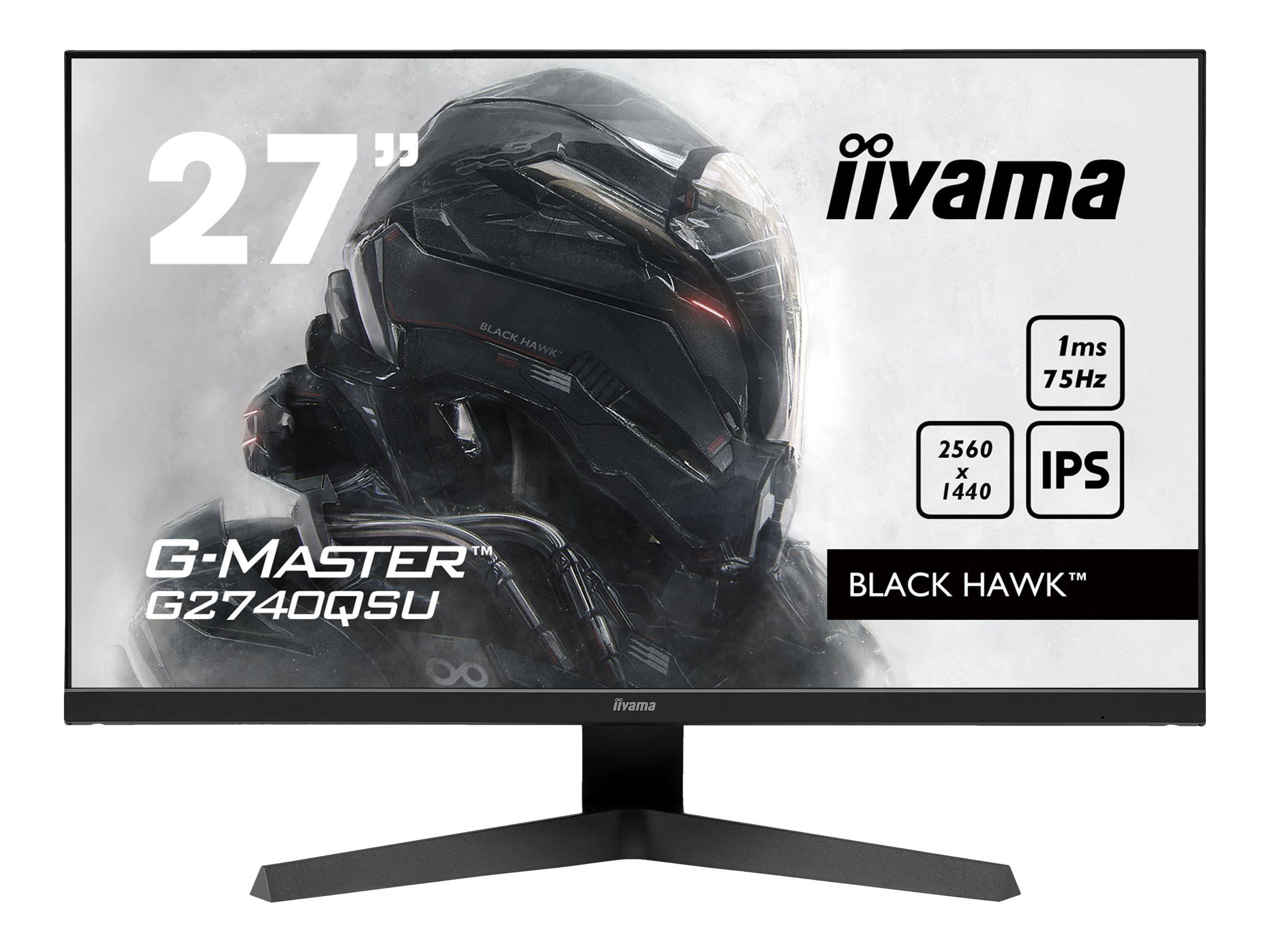 iiyama G-MASTER Black Hawk G2740QSU-B1 - LED-Monitor - 68.6 cm (27