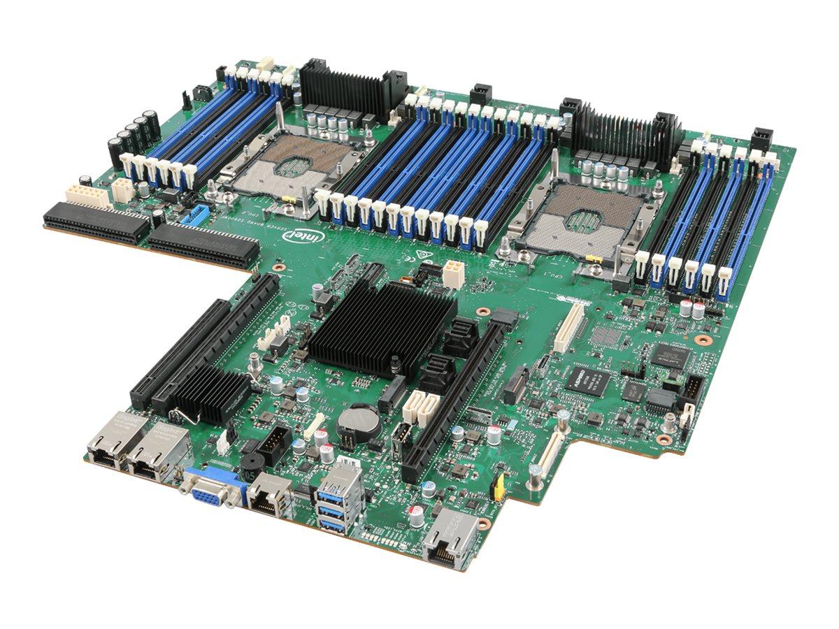 Intel Server Board S2600WF0R - Motherboard - Intel - Socket P - 2 Unterstützte CPUs - C624