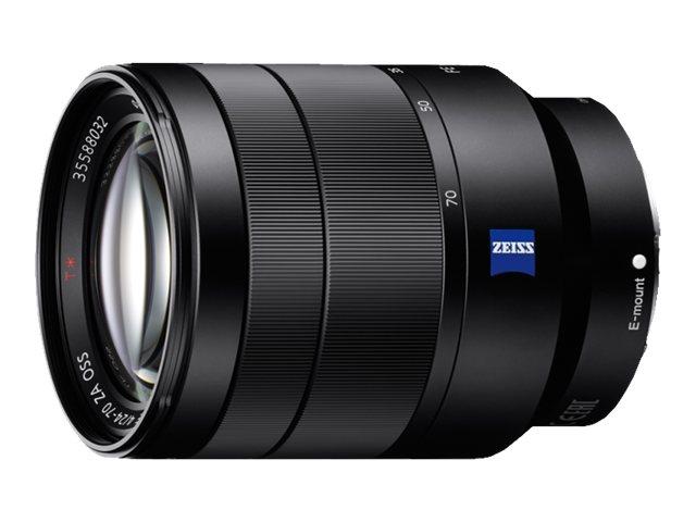 Sony SEL2470Z - Zoomobjektiv - 24 mm - 70 mm - f/4.0 Vario-Tessar T* FE ZA OSS - Sony E-mount