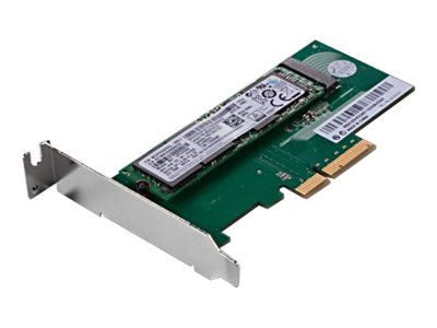 Lenovo ThinkStation M.2 SSD Adapter - Schnittstellenadapter - M.2 - M.2 Card Low-Profile - PCIe 3.0 x4 - für ThinkStation P310 (