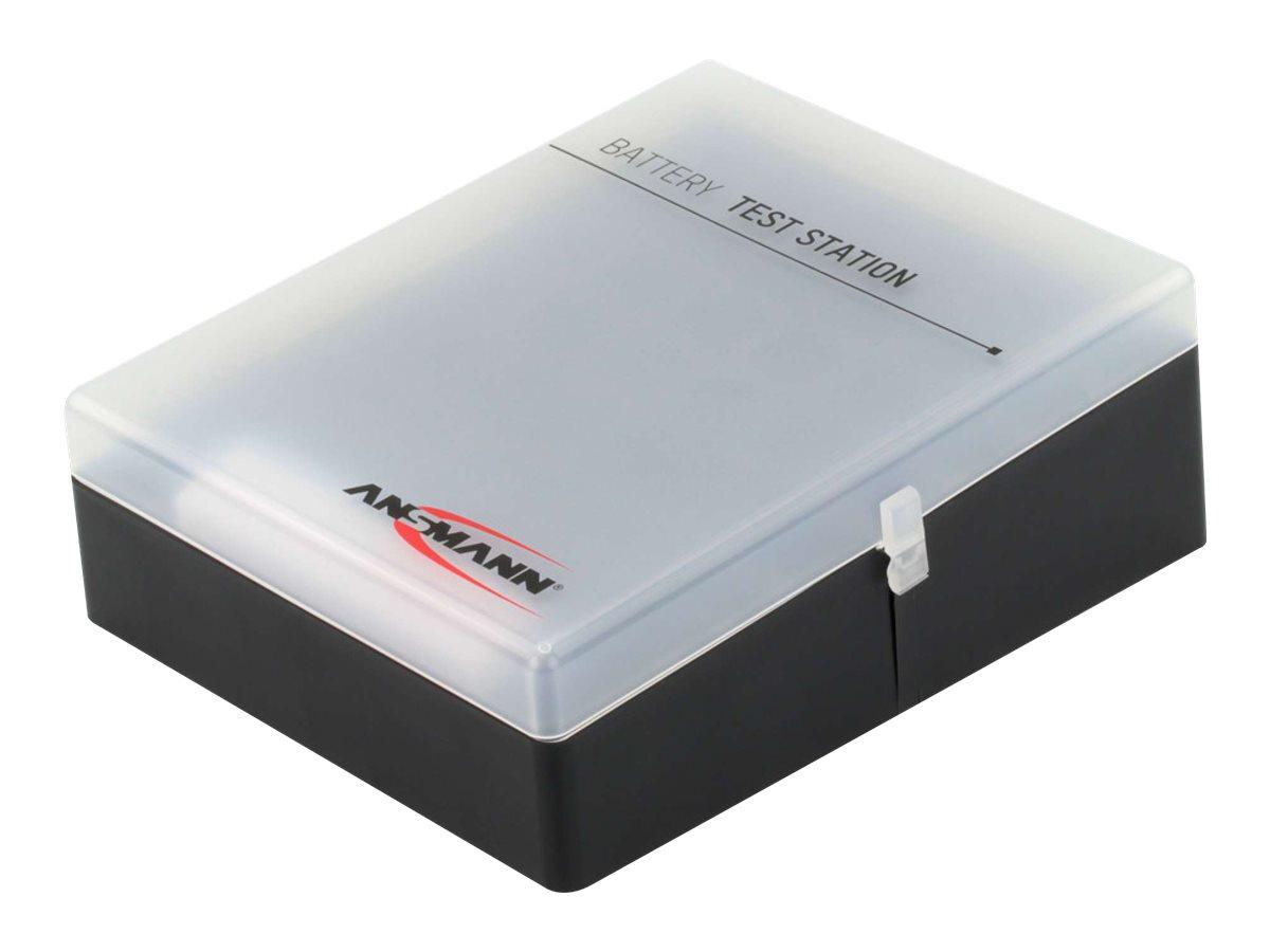 ANSMANN 48 - Batterie-Aufbewahrungsbox für Batterien / Batterietestgerät