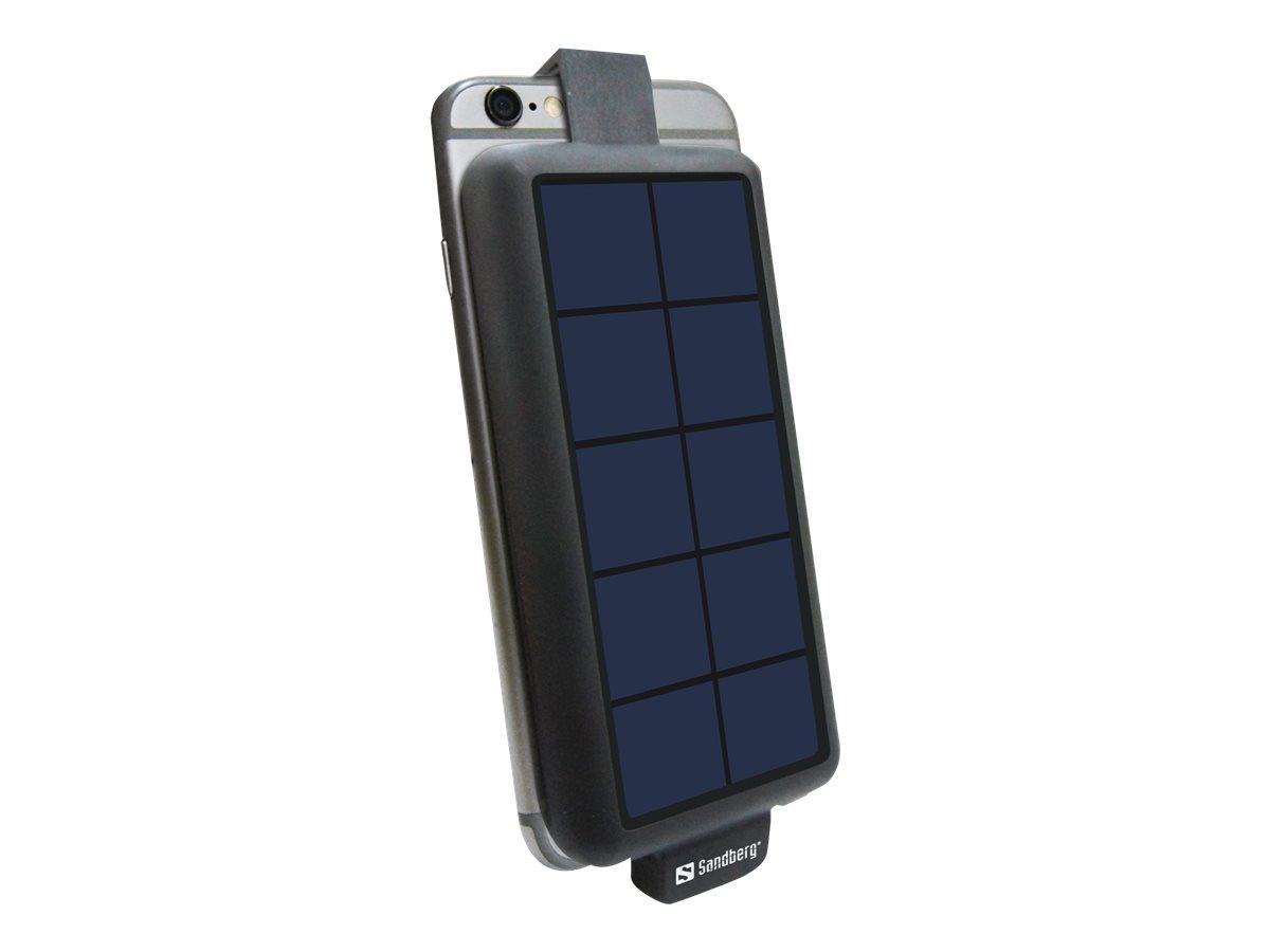 Sandberg Solar PowerBack 3000 - Solar-Powerbank - 3000 mAh - 1 A (Micro-USB Typ B)