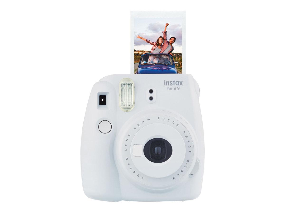 Fujifilm Instax Mini 9 - Instant Kamera - Objektiv: 60 mm - rauchiges Weiss