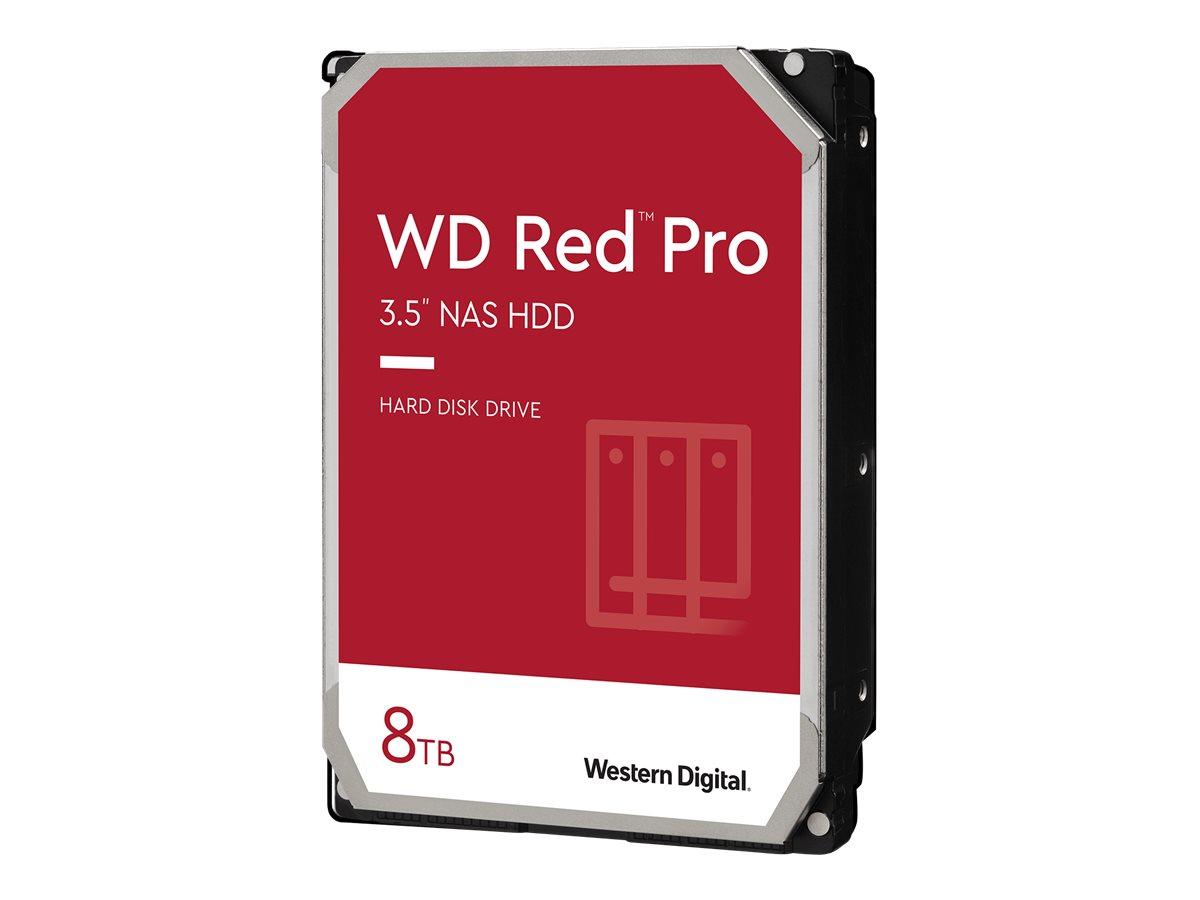 WD Red Pro NAS Hard Drive WD8003FFBX - Festplatte - 8 TB - intern - 3.5