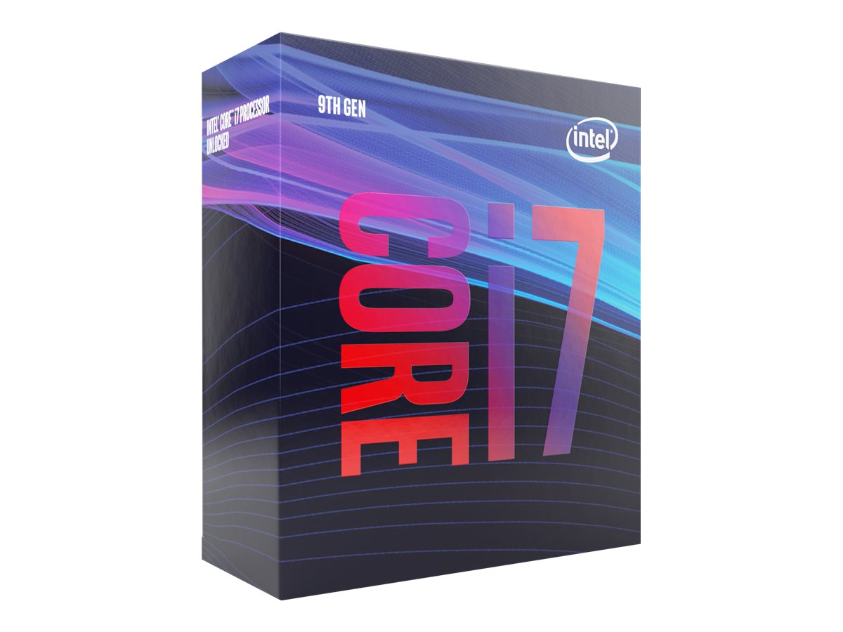 Intel Core i7 9700 - 3 GHz - 8 Kerne - 8 Threads - 12 MB Cache-Speicher - LGA1151 Socket