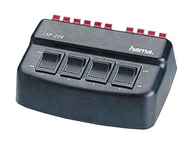 Hama Loudspeaker Switching Console LSP-204 - Selektor