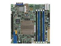 SUPERMICRO X10SDV-2C-TLN2F - Motherboard - Mini-ITX - Intel Pentium D1508 - USB 3.0 - 2 x 10 Gigabit LAN