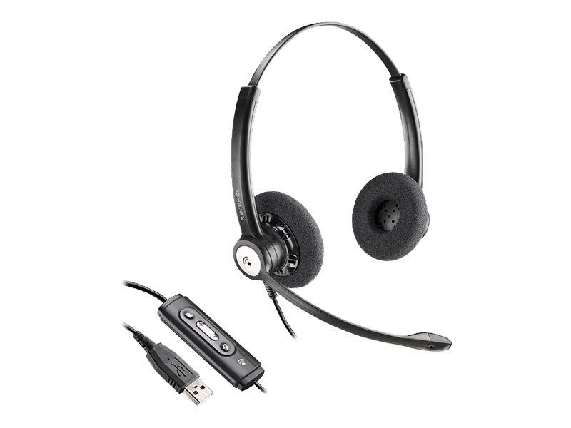 Plantronics Entera HW121N-USB - Headset - On-Ear - kabelgebunden - USB