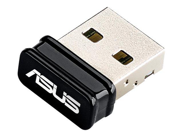 ASUS USB-N10 NANO - Netzwerkadapter - USB 2.0 - 802.11b/g/n