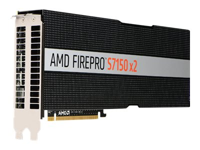 AMD FirePro S7150 x2 - Grafikkarten - FirePro S7150 x2 - 16 GB GDDR5 - ohne Lüfter - für EMC PowerEdge R730, R740xd