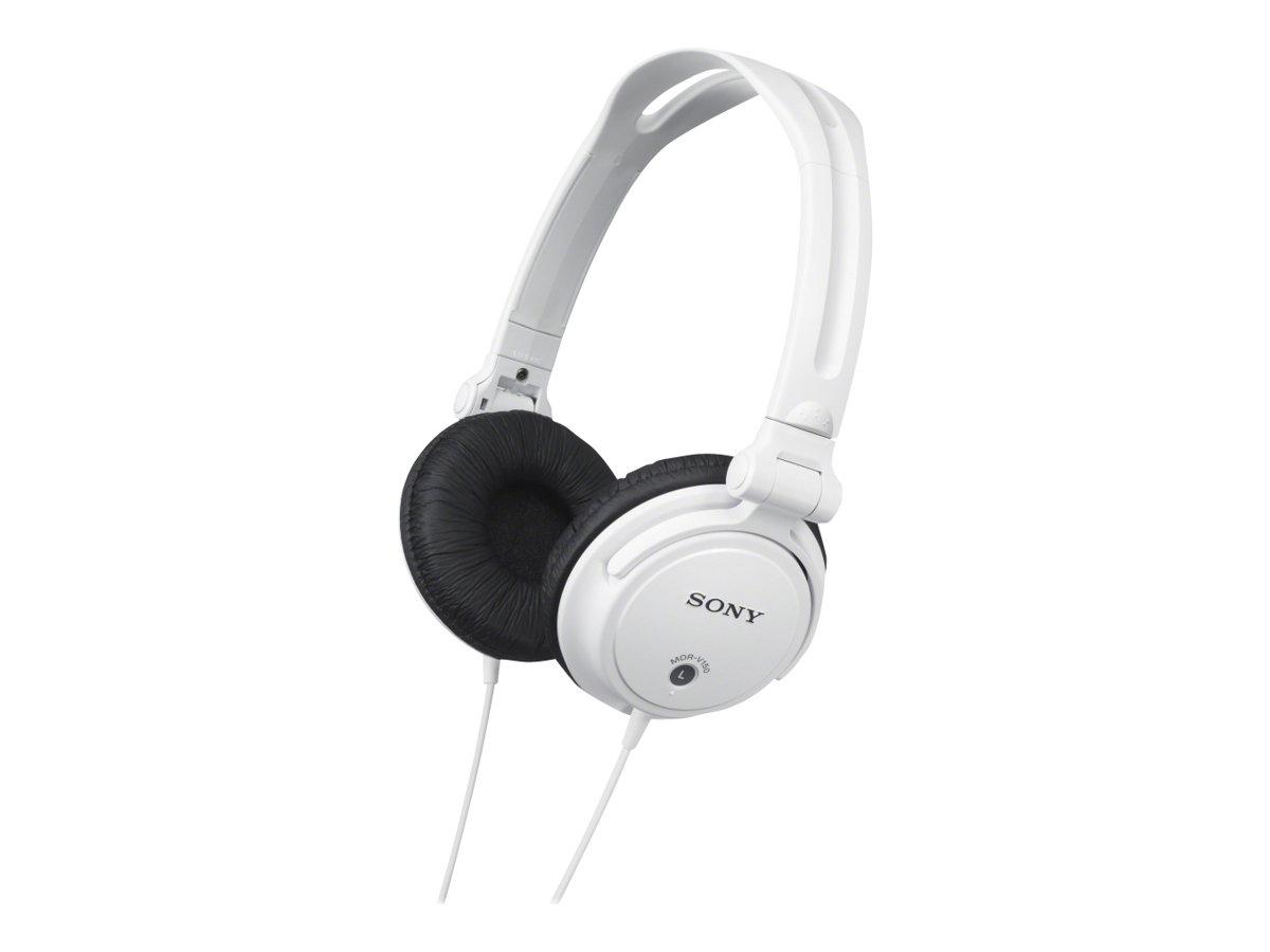 Sony MDR-V150 - Kopfhörer - Full-Size - kabelgebunden - weiss