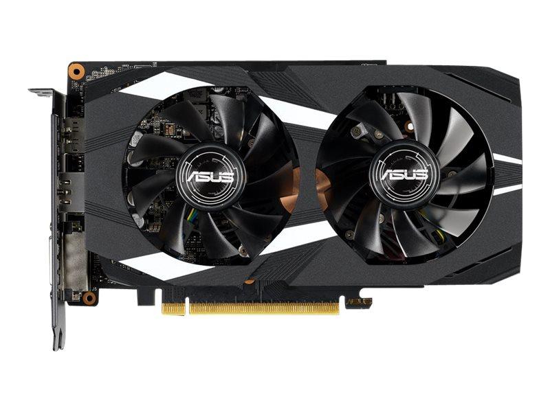 ASUS DUAL-GTX1660TI-6G - Grafikkarten - GF GTX 1660 Ti - 6 GB GDDR6 - PCIe 3.0 x16 - DVI, 2 x HDMI, DisplayPort